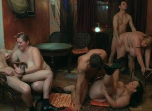 Super-naughty plus-size orgy in the..