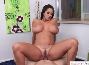 Mature mummy Ava Addams rails her..