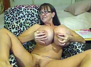 Cougar With Silicone Mammories