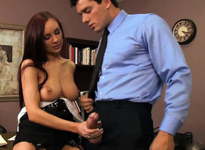 Brazzers - Mega tits at Work - Can I..