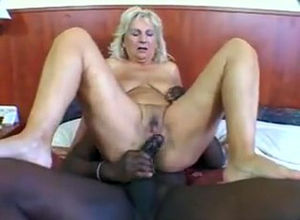 Mature light-haired buttfucked