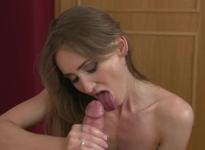Wild duo oral job outdoors numerous..