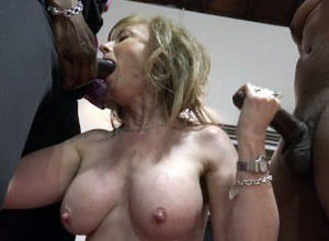 Nina Hartley office romp
