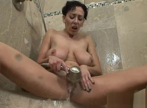 Milf Faux  Alia Janine Smashes  Her..