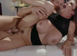 Alexis Fawx takes a steaming hard-on..