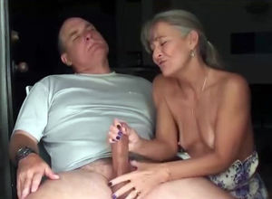 Awesome exciting cock massage from..